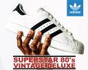 �y���������@�A�f�B�_�X�@�X�[�p�[�X�^�[�@80's�zADIDAS SUPERSTAR 80's VIN