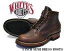 ★お求めやすく価格改定★【2332W】 【ホワイツ クロムエクセル】WHITE'S BOOTS 5 INCH SEMI-DRESS BOOTS brn chrmxl made in U.S.A.