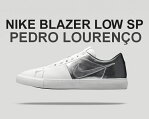 "★お求めやすく価格改定★NIKE BLAZER LOW SP ""PEDRO LOURENCO"" wht/chrome"