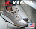★お求めやすく価格改定★【送料無料 ニューバランス】NEW BALANCE M998CEL