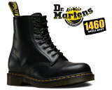 【R11822006】Dr.Martens1460 8HOLE BOOT SMOOTH BLACK