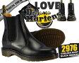 あす楽対応☆期間限定価格☆【送料無料 ドクターマーチン サイドゴア】Dr.Martens 2976 CHELSEA BOOT BLACK SMOOTH ドクターマーチン ブラック【ブーツ】