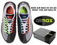 """【送料無料 ナイキ エア マックス 95】NIKE AIR MAX 95 OG QS """"GREEDY"""" WHAT THE AIR MAX 95 blk/volt-safety orange"""