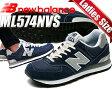 【送料無料 ニューバランス レディース 574 ネイビー】NEW BALANCE ML574NVS