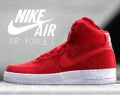 【送料無料 ナイキ スニーカー エア フォース1】NIKE AIR FORCE 1 HI '07 g.red/g.red-wht