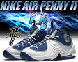 【送料無料 ナイキ エア ペニー 2】NIKE AIR PENNY II c.blu/blk-m.slv-wht【日本未発売】