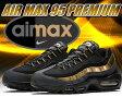 【送料無料 ナイキ エアマックス 95 スニーカー】NIKE AIR MAX 95 PREMIUM blk/blk-m.gold-anthrct