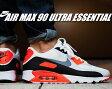 【送料無料 ナイキ エア マックス 90】NIKE AIR MAX 90 ULTRA ESSENTIAL wht/cool gry-infrared-blk