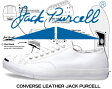【送料無料 コンバース ジャックパーセル レザー メンズ レディース】CONVERSE LEATHER JACK PURCELL white
