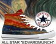 """【コンバース オールスター メンズ レディース】CONVERSE ALL STAR """"EDVARDMUNCH"""" 【エドヴァルドムンク】"""