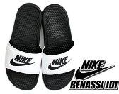 【ナイキ サンダル ベナッシ スポーツサンダル メンズ・レディースサイズ】NIKE BENASSI JDI wht/blk-blk(黒×白)【サンダル】