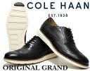 【送料無料 コールハーン オリジナルグランド】COLE HAAN ORIGINAL GRAND WING TIP II black/ivory ワイズMEDIUM【ウィングチップ】