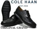 【送料無料 コールハーン オリジナルグランド】COLE HAAN ORIGINAL GRAND LWN II black ワイズMEDIUM【ウィングチップ】