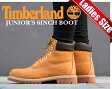 ★お求めやすく価格改定★ティンバーランド ブーツ TIMBERLAND JUNIOR'S 6INCH BOOTWHEAT wheat/brn