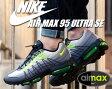 【送料無料 ナイキ エア マックス 95】NIKE AIR MAX 95 ULTRA SE d.gry/volt-anthrct-c.gry