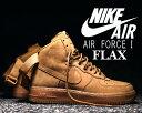 """【送料無料 ナイキ エア フォース1】NIKE AIR FORCE 1 HI '07 LV8 WB """"FLAX"""" flax/flax-o.grn-gum li【..."""