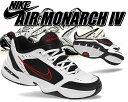 【送料無料 ナイキ エアモナーク 4】NIKE AIR MONARCH IV white/black 【DAD SHOE