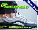 【送料無料 エアマックス 97】NIKE WMNS AIR MAX 97 dark grey/volt-stealth 【メンズサイズ スニーカー ウィメンズ エア マックス 97】