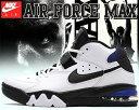 【送料無料 ナイキ エアフォースマックス】NIKE AIR FORCE MAX white/black-cobalt【スニーカー チャールズバークレー CB OG COLOR】
