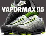 【送料無料 ナイキ エア ヴェイパーマックス 95】NIKE AIR VAPORMAX 95 black/volt-medium ...