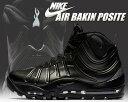 お得な割引クーポン発行中!!【あす楽 対応!!】【送料無料 ナイキ エア ベイキン ポジット】NIKE AIR BAKIN' POSITE black/anthrcite-black-black 【ブラック スニーカー ブーツ MAX AIR】