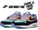 お得な割引クーポン発行中!!【送料無料 ナイキ エアマックス 1】NIKE AIR MAX 1 ND Have A Nike Day space purple/black bq8929-500 スニーカー