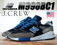 【ニューバランス スニーカー ジェイ・クルー】NEW BALANCE × J.CREW M998BC1 MADE IN U.S.A