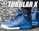 ★お求めやすく価格改定★【アディダス スニーカー チューブラー X】adidas TUBULAR X conavy/minblu-brblue【日本未発売】