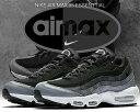 【ナイキ エアマックス 95】NIKE AIR MAX 95 ESSENTIAL black/black-anthracite【エア マックス 95 エッセンシャル メンズ スニーカー ブラック グラデーション】