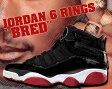 """NIKE JORDAN 6 RINGS """"BRED"""" blk/v.red-wht"""