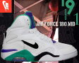 ★お求めやすく価格改定★NIKE AIR FORCE 180 MID wht/atomic teal-h.grape-blk