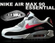 NIKE AIR MAX 90 ESSENTIAL wht/h.pnk-blk-wlf gry