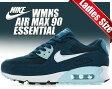 【ナイキ エア マックス90 レディース・サイズ】NIKE WMNS AIR MAX 90 ESSENTIAL bl frc/wht-ic cb bl-lt bl lc【ランニングシューズ】