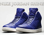★お求めやすく価格改定★NIKE JORDAN SHINE deep royal blu/sail-vchtt tan