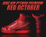 """お得な割引クーポン発行中!!NIKE AIR PYTHON PREMIUM """"RED OCTOBER"""" g.red/blk"""