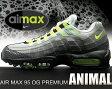 """【ナイキ エアマックス 95】NIKE AIR MAX 95 OG PREMIUM """"ANIMAL"""" blk/vlt-mdm ash-dk pwtr(anm)"""