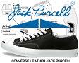 ★お求めやすく価格改定★【送料無料 コンバース スニーカー ジャックパーセル レザー メンズ レディース】CONVERSE LEATHER JACK PURCELL black