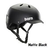 【20%OFF】【国内正規品】2016 Summer bern バーン ヘルメット WATTS JAPAN FIT ワッツ ジャパンフィット 自転車 スケートボード メンズモデル Matte Black マットブラック VM5MBK BM25BMBLK