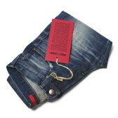 【国内正規品】【MEN / UNISEX】新作 RED CARD ( レッド カード ) / Rhythm ( リズム ) / Slim Tapered / ウォッシュド デニム パンツ【インディゴ/akira-Worn Mid】【送料無料】