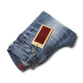 【SALE30】【国内正規品】【WOMEN】S/S 新作 RED CARD ( レッド カード ) / Synchronicity ( シンクロニシティ ) / Boyfriend Fit / ウォッシュド ダメージ デニム パンツ【インディゴ】【送料無料】
