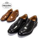 Church's チャーチ Burwood バーウッド ポリッシュド バインダー ダイナイトソール メンズ 男性用 革靴 レザーシューズ イギリス 7615 送料無料