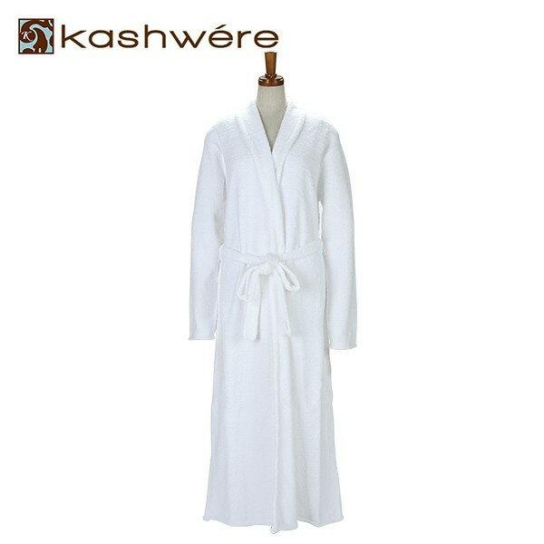[全品送料無料]カシウェア バスローブ ロングローブ ライト ウェイト ホワイト バスローブ KASHWERE