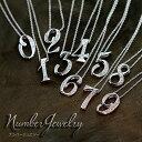 Number(ナンバー・数字)あなただけの数字を ダイヤモンド 0.08〜0.1カラット ネックレス K18 PG WG 18金(※プラチナ対応可) /白・透明(ホワイト)/受注生産品・新品/届30/送料無料