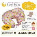 【送料無料】肉厚 授乳クッション&補助クッションセット ボディーピロー 出産準備 ラックベビー らっくべいびー Luck baby