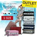 【最大1000円OFFクーポン発行中!12/18 AM9:59まで】【アウトレット】スーツケース キャリーバッグ キャリーケース 小型 キャリーバック 機内持ち込み 送料無料 sサイズ フレームタイプ 超軽量 TSA 軽量 旅行バッグ TY6801
