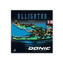 アリゲーター DEF(AL018)《DONIC 卓球 ラバー》