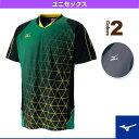 ゲームシャツ/ユニセックス(72MA6004)《ミズノ テニス・バドミントン ウェア(メンズ/ユニ)》