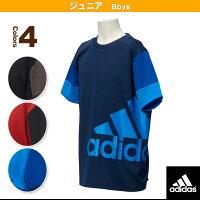 [アディダス オールスポーツウェア(メンズ/ユニ)]KIDS Boys エッセンシャルズ スーパービッグロゴ Tシャツ/ボーイズ(BIK88)の画像