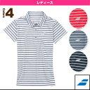 [バボラ テニス・バドミントンウェア(レディース)]ゲームシャツ/レディース(BAB-1689W)