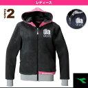 W EVO もこもこHDYジャケット/レディース(TL6195)《ディアドラ テニス・バドミントン ウェア(レディース)》